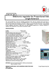 Model REP - 100 EMC - Electronic Regulator Brochure