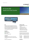 Speed and Area Counter-PX Combi 810 Brochure