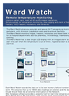 Tempulog - Wardwatch - Network Based Data Logger and Alarm System - Brochure