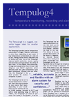 Tempulog - 4 - Temperature Monitoring, Recording and Alarm System - Brochure