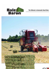 Bale Baron - Model 4240T - Baler - Brochure