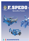 Depliant Potato Digger Products Catalog Brochure