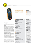 BARTEC - PEGASUS 7110ex - Mobile Phone For ATEX And IECEx, Zone 1, UL Div 1 Data Sheet