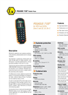BARTEC - PEGASUS 7120ex - Mobile Phone For ATEX And IECEx Zone 2 And 22, UL Div 2 Data Sheet