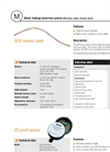 SCR - Sensor Cable Data Sheet