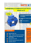 Series 4KTS IP68 - Submersible Flameproof Electrical Motors Data Sheet