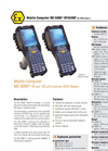 MC 9090ex RFID/UHF - Mobile Computer For ATEX Zone 1 DAta Sheet