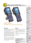 MC 9090ex RFID/HF - Mobile Computer For ATEX Zone 1 Data Sheet