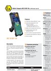 MC 9190ex-NI - Mobile Computer For ATEX Zone 2 And 22 Data Sheet
