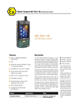 MC 75Axex-NI - Mobile Computer For ATEX Zone 2 And 22 Data Sheet