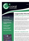 Legionella Management & Monitoring Services Datasheet