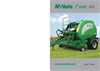 Model F5400 - Fixed Chamber Baler-Brochure