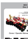 BDH - 600-1620 - Disc Harrow Brochure