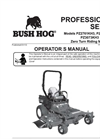Bush Hog - Model TD1100, TD1500 & TD1700 - Tri-Deck Finishing Mowers- Brochure