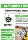 CTD Contracting Services Datasheet