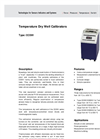 Model CCD91 - Temperature Dry Well Calibrators Datasheet