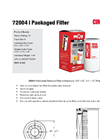 Cim-Tek - Model 72004 - Packaged Filter - Brochure