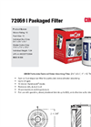 Cim-Tek - Model 72059 - Packaged Filter - Brochure