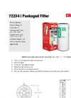 Cim-Tek - Model 72234 - Packaged Filter - Brochure