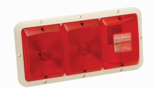Bargman - Model 30-84-002 - Recessed Triple Taillights