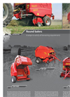 Easy max Tronic - Round Baler Brochure