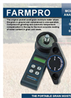 Farmpro - Original Pocket-Sized Grain Moisture Meter Brochure