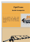 OptiTrans Header Transporter Brochure