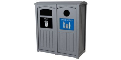 Excel Dome Top Recycling Station