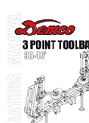 Model 40 - 3 Point Fertilizer Toolbar- Brochure