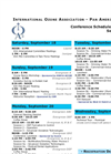 PAG 2010 - Conference Schedule At A Glance