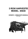 3 Row Harvester 5630 Brochure
