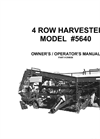 4 Row Harvester  5640 Brochure