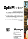 SplitMaster - Model 9 - Horizontal Splitter Brochure
