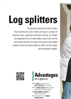 Spaltaxt - Model 8 - Firewood Splitter Brochure