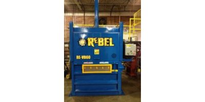 RECYCLING EQUIPMENT INC - Model VB6060 - Vertical Single Baler