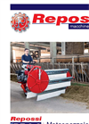 odel RF 2.3 - Self Powered Machine- Brochure
