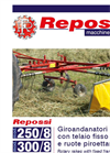 Model 350/9 - Mounted Rotary Rakes Brochure