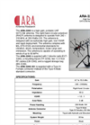 Model ARA-3240-HC - High Gain Portable UHF Satcom Antenna Datasheet
