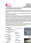Model ARP-100 - Azimuth Positioner Position Control Unit (APS) Brochure