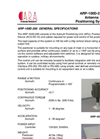 Model ARP-100D-285 - Azimuth Positioning Unit (APU) Brochure
