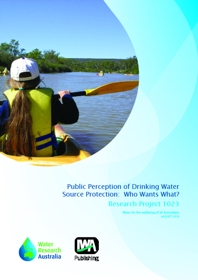 Public perception of drinking water source protection