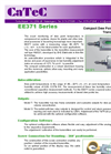 CaTeC - EE371 / EE372 - Dew Point Transmitters for Compressed Air Drying Processes Datasheet