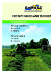 Model P4 - Rotary Tedder Brochure