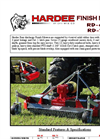 RD-60M 60 Inch Rear Discharge Finish Mower Brochure