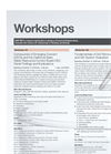 WEFTEC 2011 Workshops - Full Descriptions