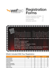 WEFTEC 2011 Registration Form