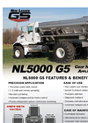 Model NL5000 G5 - Variable Dry Rate Nutrient Applicator Brochure