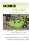 Model FX742 - Rotary Cutters Brochure