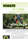 Schulte - Model V1280 - Rotary Cutters Brochure