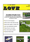 J E Love - Combine Header Cart Brochure